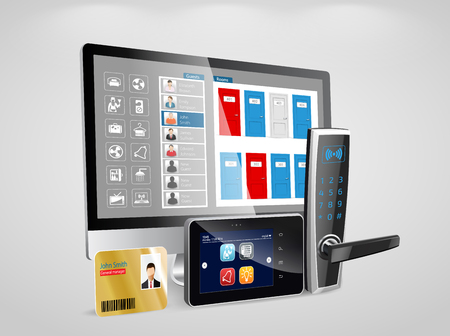 Access control and management system for Hotels and Hospitals