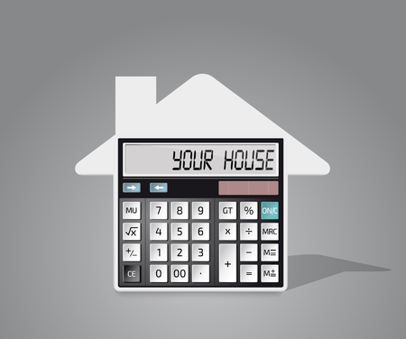 borrowing money: Calculator - own house, bank credit