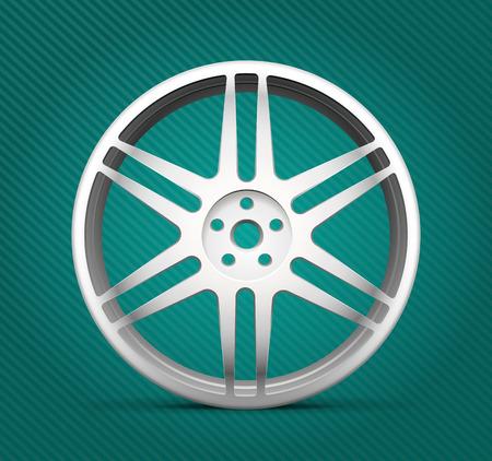 an alloy: Car parts - alloy wheels