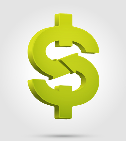 Dollar symbol - trade concept - money icon