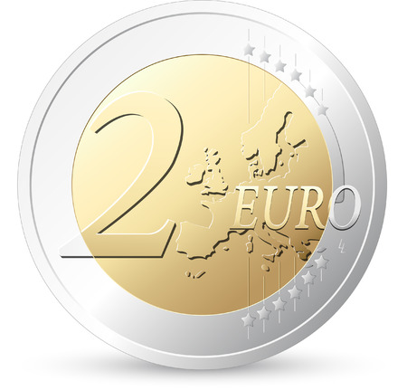 2 Euros - European currency