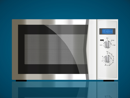 kitchen appliances: Kitchen appliances - Microwave