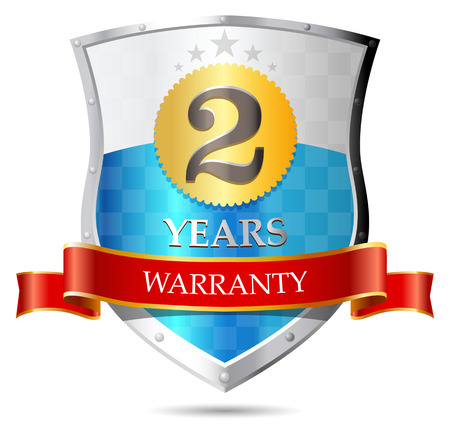 warrants: Warranty - two years