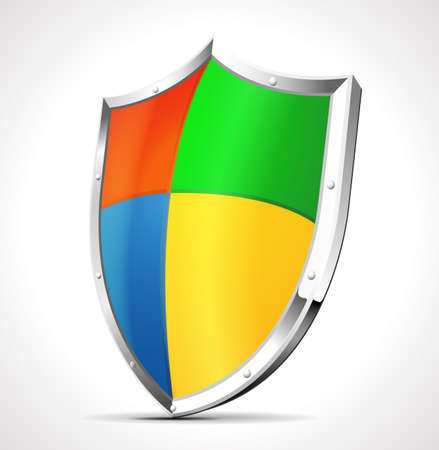buckler: Software protection shield concept Illustration