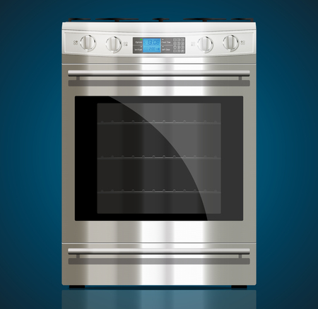 Kitchen - Gas stove Illustration