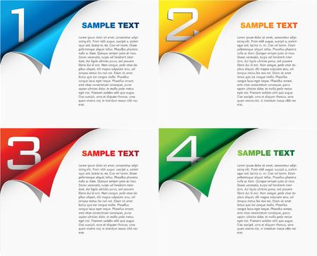 page layout: Page layout - template sheet - cover design concept