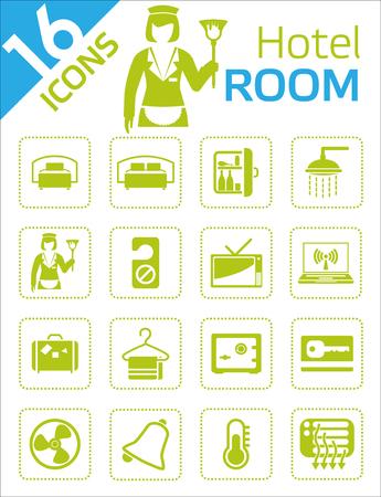 albergo: Icone - Hotel room