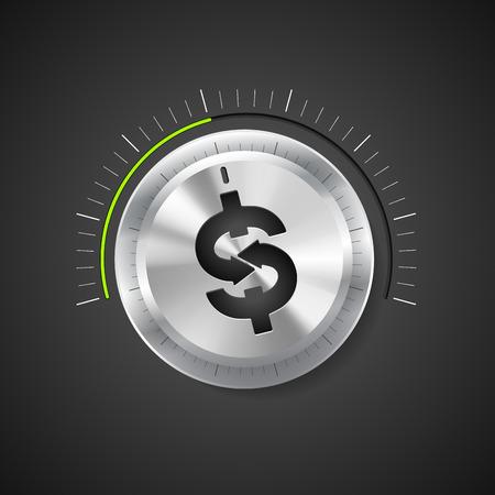 valor: Perilla - Crecimiento concepto de negocio Vectores