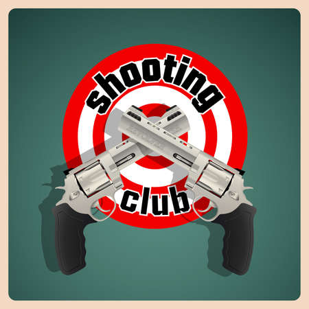 exterminate: Revolver - shooting club logo