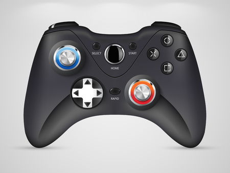 game pad: Gamepad - a video game controller