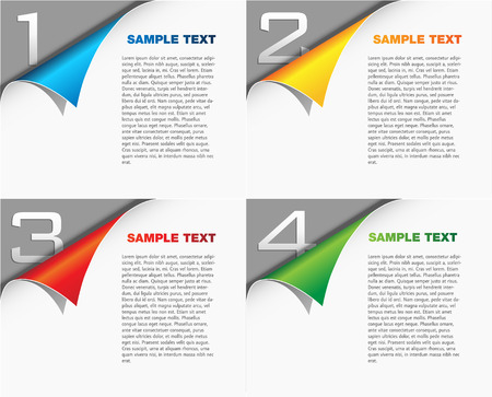 page design: Page layout - template sheet - cover design concept