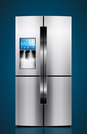 icebox: Kitchen appliances - Icebox, refrigerator, fridge