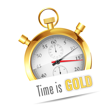 time out: Stopwatch - Time is gold