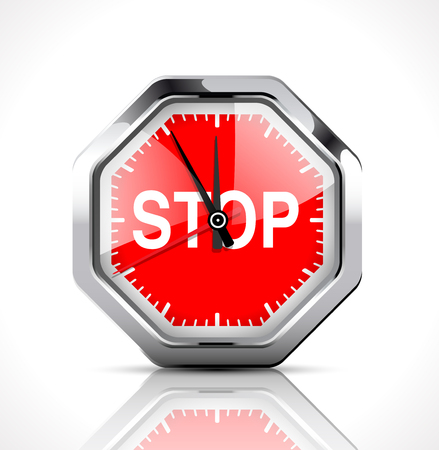 deter: Stopwatch - Stop time Illustration
