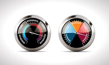 Speedometer concept Reklamní fotografie - 48523552