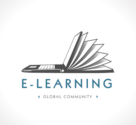 教育: 標誌 - 電子學習