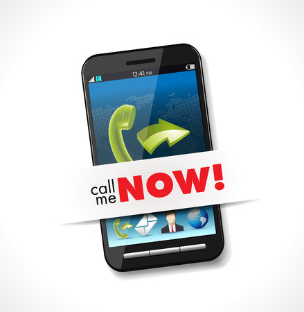 call me: Cellphone - Call me now