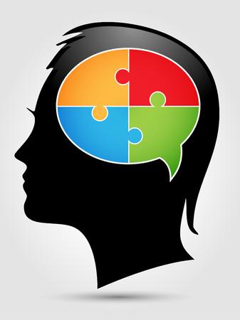 Puzzle - penser têtes