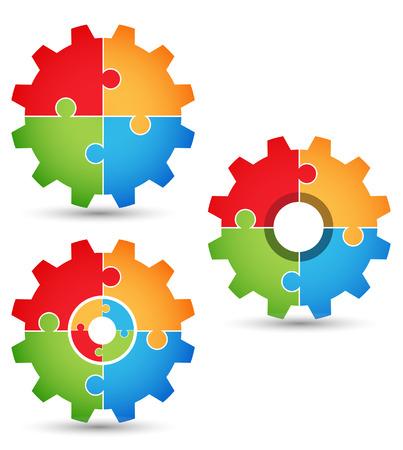 engranes: Puzzle - engranajes