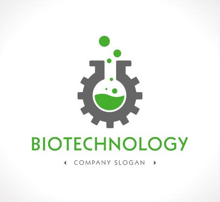 ロゴ - バイオ テクノロジー