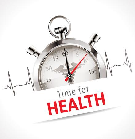 ストップウォッチ - 医療の概念のための時間