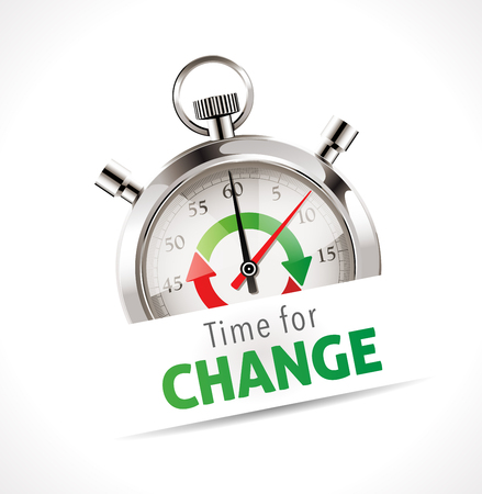 Stopwatch - Time for change