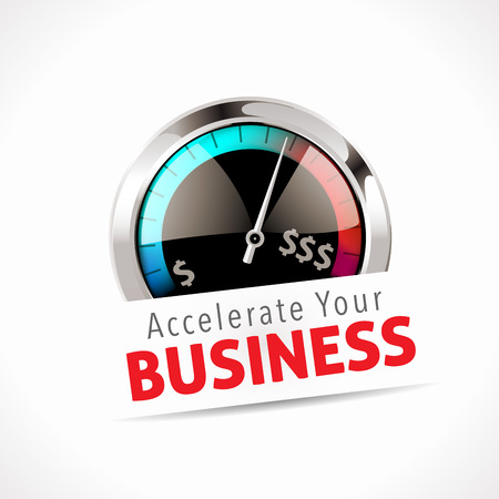 business meeting computer: Speedometer - Accelerate Your Business