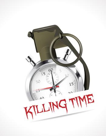 killing: Stopwatch - Killing time concept