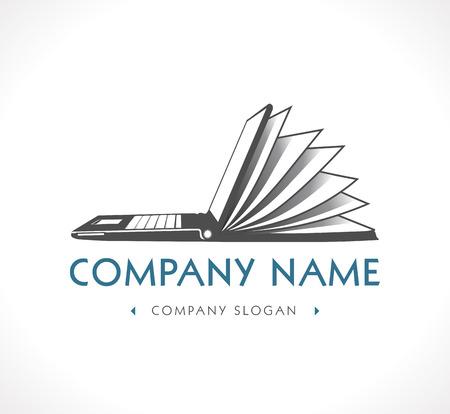 Logo - e-learning - company name Illustration