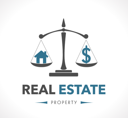 legal icon: Logo - real estate - property concept