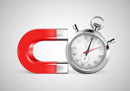 endeavor: Magnet - time management concept