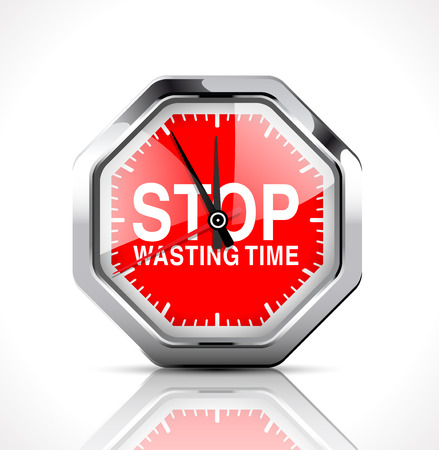 vector  sign: Stopwatch - Stop Wasting Time