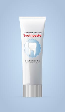 pasta dental: Tubo - Pasta de dientes