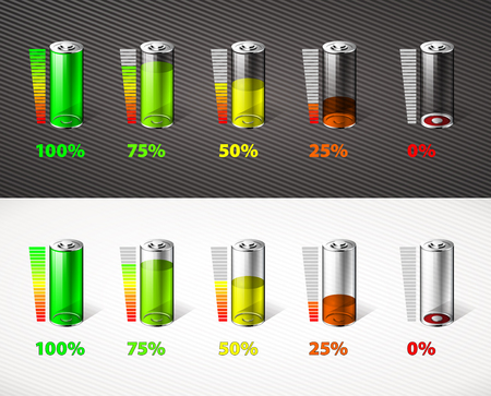 linkedin: Battery charge - energy concept