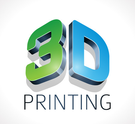 printing logo: Logo - three dimensional printing