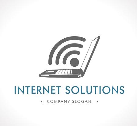ロゴ - インターネット ソリューション