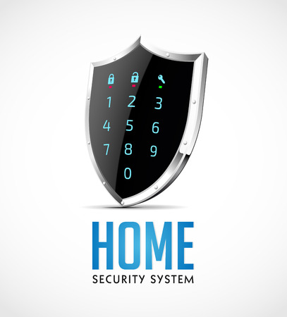 Home security system - access controller as protection shield