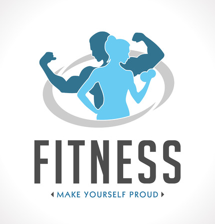 bodybuilding: Fitness badge