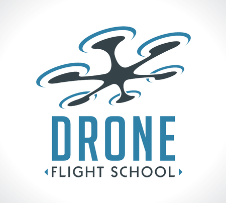 school: drone flying school Illustration