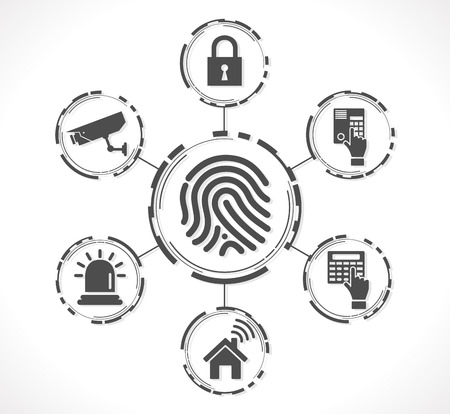 safeness: Access control system - Fingerprint security concept
