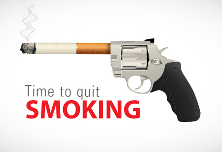 quit: Revolver - time to quit smoking
