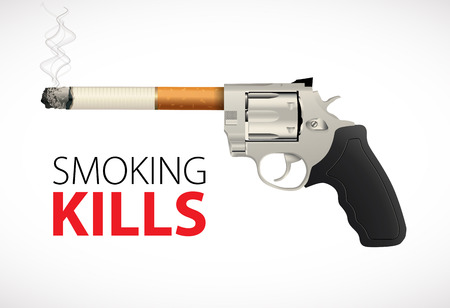quit smoking: Revolver - time to quit smoking