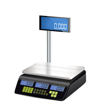 Shop electronic scales Stock fotó - 78837362