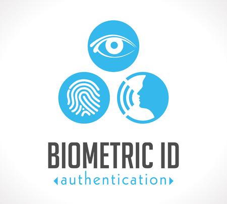 Logo - Biometric ID authentication Illustration