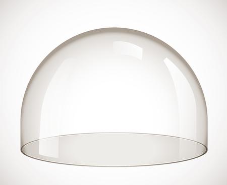 glass dome Stock Illustratie