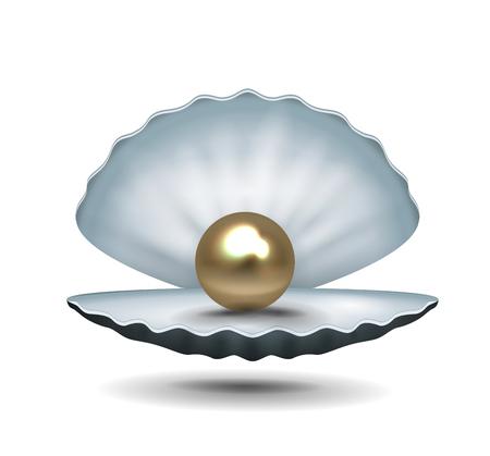 Pearl icon illustration.