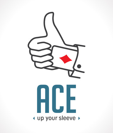 Ace up your sleeve - most important decisive argument Illusztráció