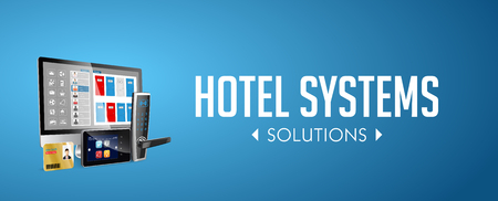 Access control system - Alarm zones - security system concept - website banner