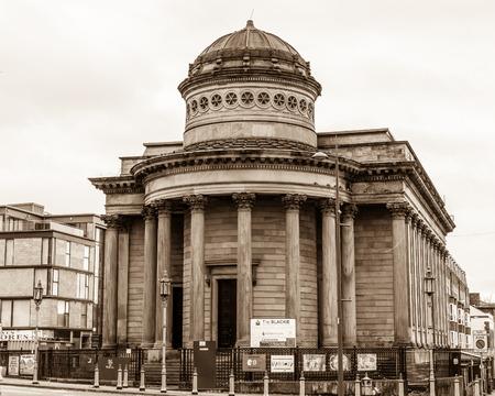 congregational: ENGLAND, LIVERPOOL - 15 NOV 2015: Great George Street Congregational Church, The Black-E community centre