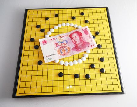 encircling: Strategy of Currency - RMB 2 Stock Photo